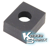 Body Mounting Rubber Pad For Beams, Rear Shock Tower 17mm