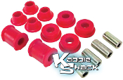 Super Beetle Front Control Arm Bushing Kit, Urethane, '74 & Up