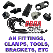 Cobra™ AN Fittings, Adapters, Brackets, Hdwe, etc.