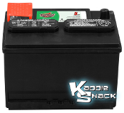 Interstate VW Battery, 12 Volt, + core charge if no core return