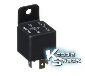 Universal 12V Relay, For Wiring Accessories, Lights, Etc.