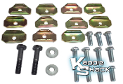 Floor Pan Mounting Bolts & Washers Kit, All Type 1