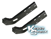 Adapter Brackets for Cal-Look or Mexican Bumpers, Pair