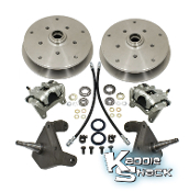 Ball Joint 5x205mm & 5x130mm Disc Brake Kit with Drop Spindles