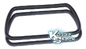 Neoprene Stock Style Valve Cover Gaskets, Pair