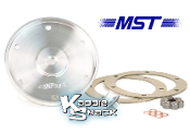 MST Billet Aluminum Oil Drain Plate Kit, Machined