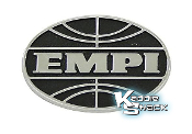 EMPI Die Cast Metal Logo with Adhesive Backing