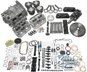 Complete Engine Build Kit, ALL NEW COMPONENTS, 1600cc