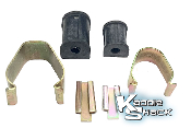 Stock Front Sway Bar Bushing and Clamp Mount Kit, LP, Per Side