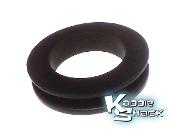 Steering Column Firewall Rubber Grommet, '67 & Earlier
