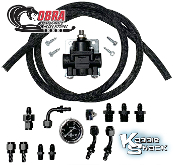 Cobra™ Fuel Pressure Regulator Kit For 40mm Kadron Dual Carbs